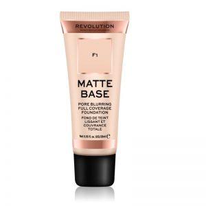 Fond de ten Makeup Vlatte Base F1, 28 ml, Revolution