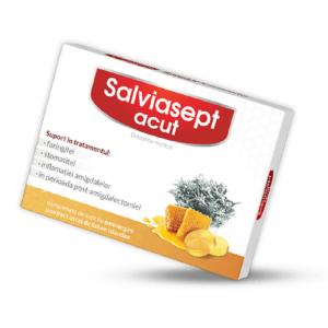 Salviasept Acut, 24 comprimate, Zdrovit
