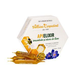 Apielixir 10 ml, 15 fiole, Apicola Pastoral