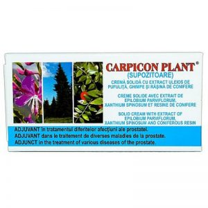 Carpicon Plant supozitoare – Elzinplant, 10 x 1 gr