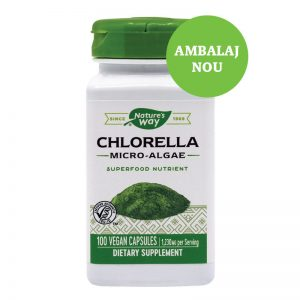 Chlorella Micro-algae 410mg Nature's Way, 100 capsule, Secom