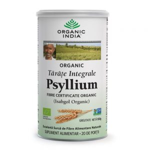 Tarate de Psyllium Integrale, 100g, Organic India