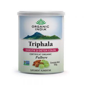 Triphala Digestie Detox Colon, 100 g, Organic India