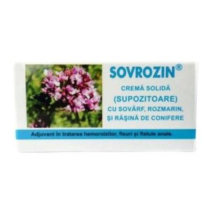 SOVROZIN SUPOZITOARE 10×1.5gr ELZIN PLANT