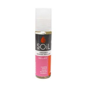 Roll-On Relief cu Uleiuri Esențiale Pure Organice ECOCERT 11 ml | Amestec de Alinare Rapidă SOiL
