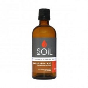 Ulei de tip Bază Nuci de Macadamia Pur Presat la Rece 100% Organic ECOCERT 100 ml SOIL