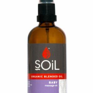 Ulei Blend Masaj Baby 100% Organic ECOCERT 100ml SOiL