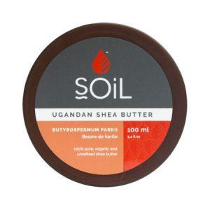 Unt de Shea Fair Trade Pur Inodor SOiL, bio, 100 ml