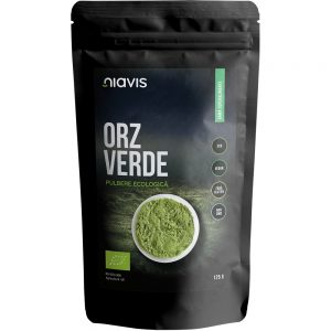 Orz verde pulbere ecologica, 125 g, Niavis