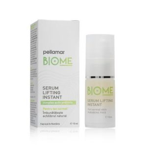 Serum lifting instant pentru ten normal Biome, 15 ml, Pellamar