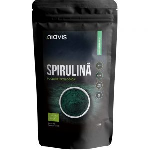 Spirulina pulbere ecologica, 125 g, Niavis