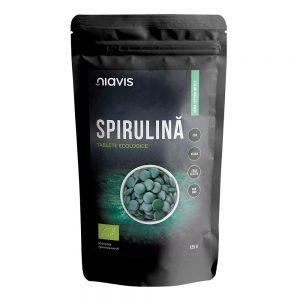 Spirulina tablete ecologice, 125g, Niavis