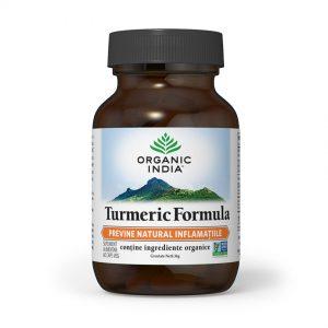 Turmeric Formula cu Ghimbir, 60 capsule, Organic India