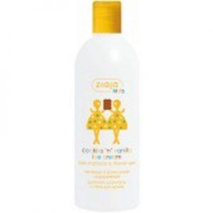 Șampon și gel de duș cu prăjituri și înghețată de vanilie pentru copii, 400 ml, Ziaja