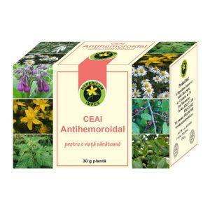 Ceai antihemoroidal, 30 g, Hypericum