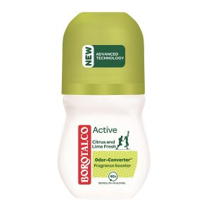 Deodorant roll-on Active Citrus and Lime, 50 ml, Borotalco