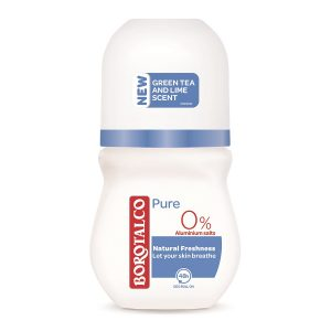 Deodorant roll-on Pure Natural Freshness, 50 ml, Borotalco