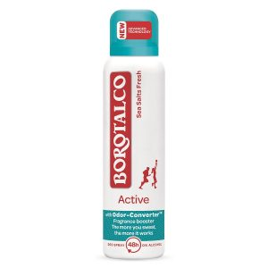 Deodorant spray Active Sea Salts, 150 ml, Borotalco