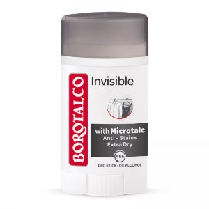 Deodorant stick Invisible, 40 ml, Borotalco