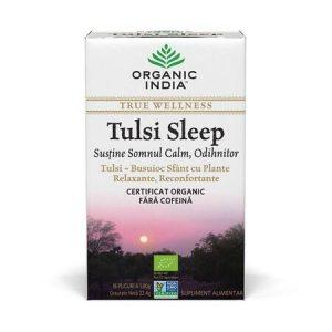 Ceai Tulsi Sleep Pentru Somn Calm, Odihnitor 18 Organic India