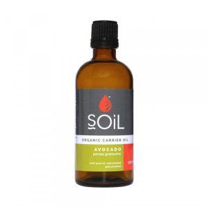 SOiL Ulei Baza Avocado 100% Organic ECOCERT 100ml