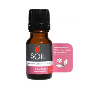 SOiL Ulei Esential Benzoin 100% Organic ECOCERT 10ml