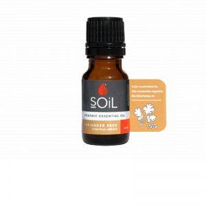 SOiL Ulei Esential Coriander Seed 100% Organic ECOCERT 10ml