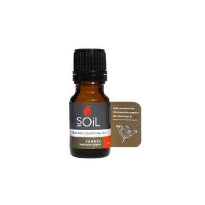 SOiL Ulei Esential Fennel  100% Organic ECOCERT 10ml