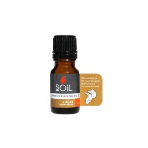 SOiL Ulei Esential Ginger 100% Organic ECOCERT 10ml