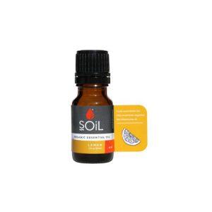 Ulei Esential Lemon 100% Organic ECOCERT 10ml SOiL