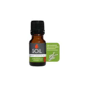Ulei Esential Lemongrass 100% Organic ECOCERT 10ml  SOiL