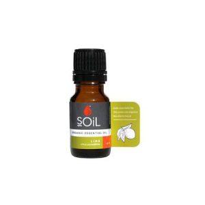 SOiL Ulei Esential Lime 100% Organic ECOCERT 10ml