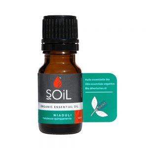 SOiL Ulei Esential Niaouli 100% Organic ECOCERT 10ml