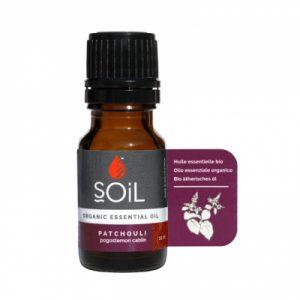 SOiL Ulei Esential Patchouli 100% Organic ECOCERT 10ml