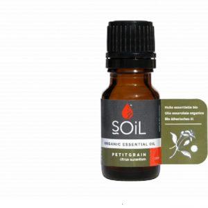 SOiL Ulei Esential Petitgrain 100% Organic ECOCERT 10ml