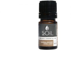 SOiL Ulei Esential Sandalwood 100% Organic ECOCERT 2.5ml
