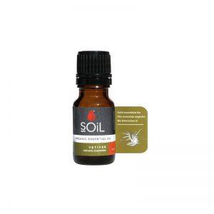 SOiL Ulei Esential Vetiver 100% Organic ECOCERT 10ml