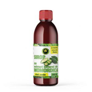 Sirop cu extract natural de Momordica fără zahăr, 500 ml, Hypericum
