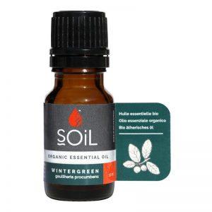 SOiL Ulei Esential Wintergreen – Perisor 100% Organic ECOCERT 10ml