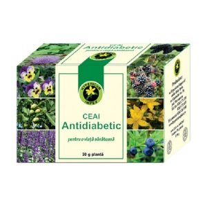 Ceai Antidiabetic, 30 g, Hypericum
