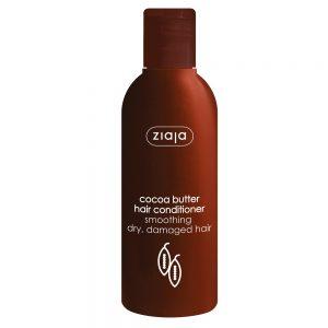 Balsam cu unt de cacao pentru păr uscat si deteriorat, 200 ml, Ziaja