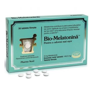 Bio-Melatonină, 30 tablete, Pharma Nord