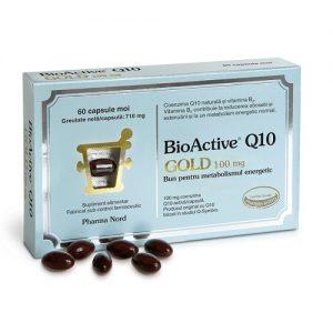 BioActive Q10 Gold 100 mg, 30 capsule / 60 capsule, Pharma Nord