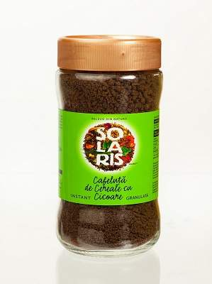Cafeluță de cereale cu cicoare granulată, 100 g, Solaris