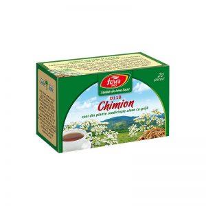 Ceai fructe de Chimion, 20 plicuri, Fares