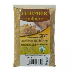 Ghimbir pulbere, 100 g, Herbavit