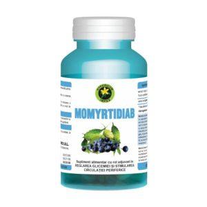 Momyrtidiab, 60 capsule, Hypericum