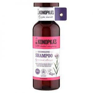 Șampon regenerator pentru par uscat și vopsit, 500 ml, Dr. Konopkas