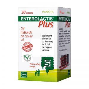 Enterolactis Plus, 30 capsule, Sofar