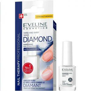 Tratament Titan Diamant pentru întărirea unghiei Nail Therapy, 12 ml, Eveline Cosmetics